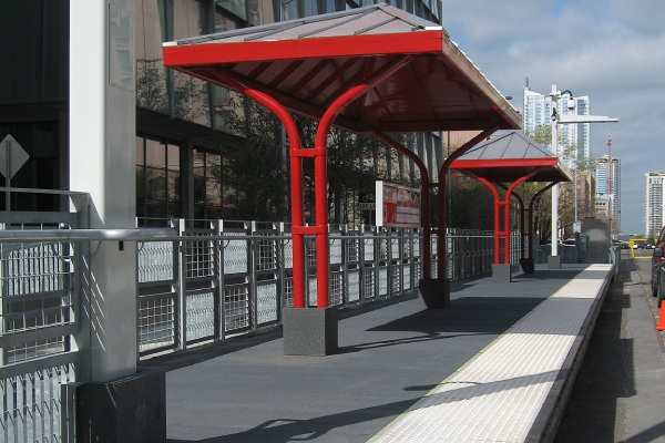 Elevated Transit Platform installed by Armor-Deck